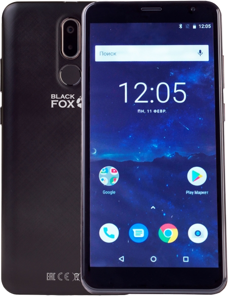 Смартфон Black Fox B7 8GB Black